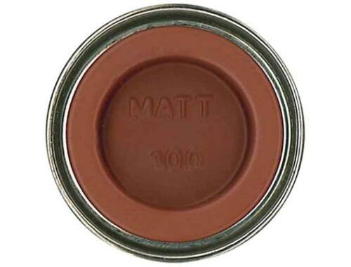 Humbrol Enamel 100 Red Brown Matt (AA1105)