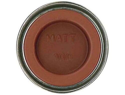 Humbrol Enamel 100 Red Brown Matt (AA1105)