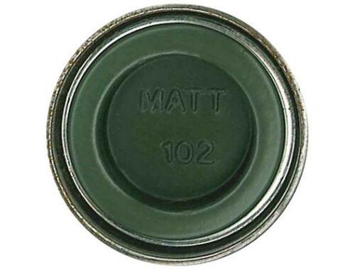 Humbrol Enamel 102 Army Green Matt (AA1122)