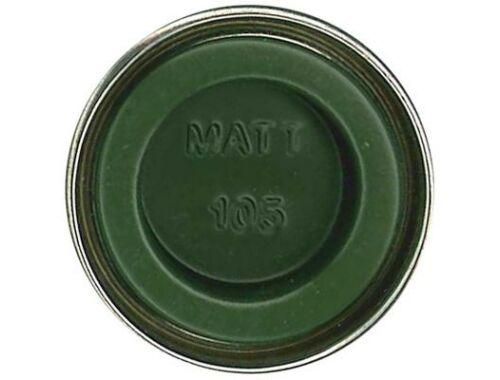 Humbrol Enamel 105 Marine Green Matt (AA1167)