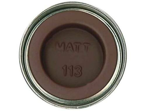 Humbrol Enamel 113 Rust Brown Matt (AA1242)