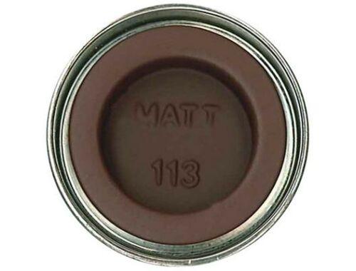 Humbrol Enamel 113 Rust Brown Matt (AA1242)