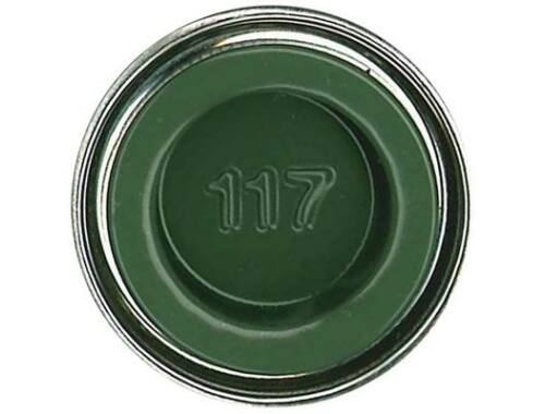 Humbrol Enamel 117 US Green Matt (AA1290)