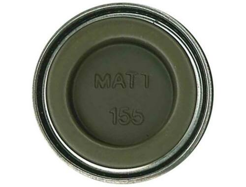 Humbrol Enamel 155 Olive Drab Matt (AA1688)