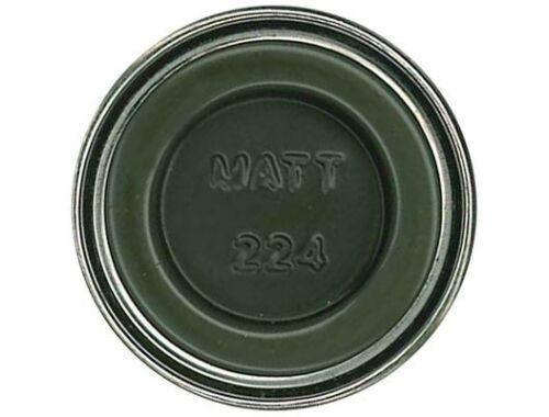 Humbrol Enamel 224 Dark Slate Gray Matt (AA7224)