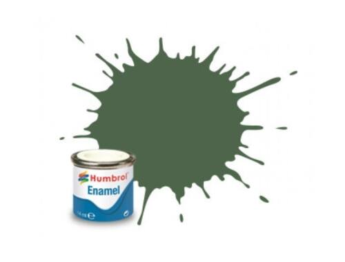 Humbrol Enamel RLM 82 Olive Green Matt (AA2252)