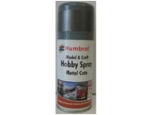 Humbrol Metalcote Spray Steel 150 ml Polírozható (AD6996)