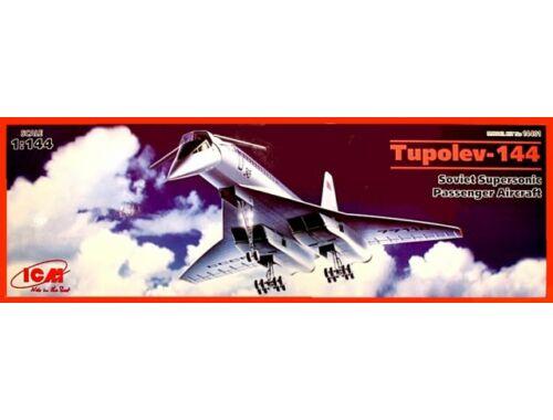 ICM Tupolev-144 Supersonic Passenger Aircraft 1:144 (14401)