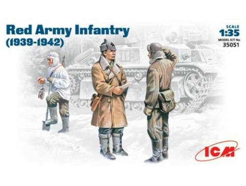 ICM Red army infantry (1939-1942) 1:35 (35051)