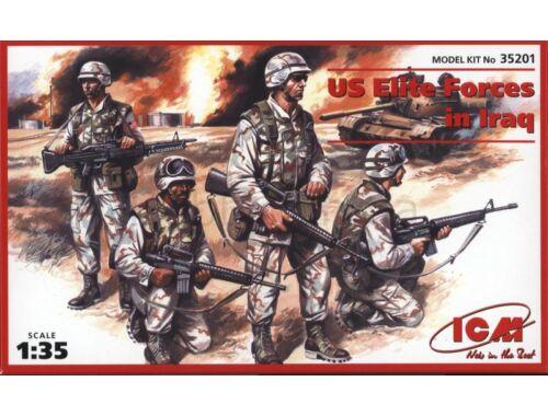 ICM US Elite Unit Iraq 2002 1:35 (35201)