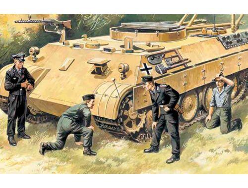 ICM German tank crew 1:35 (35211)
