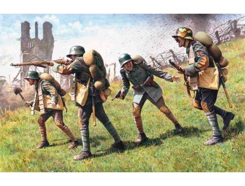 ICM German storm troops 1917/17 1:35 (35291)