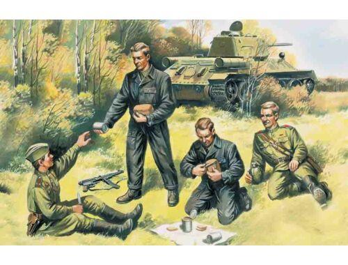 ICM Russian Tank Crew 1943-1944 1:35 (35351)