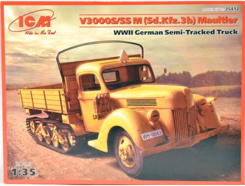 ICM V3000S/SS M (SD.Kfz.3b)Maultier 1:35 (35412)