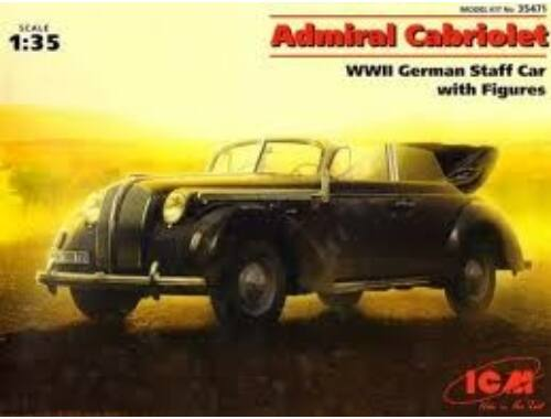 ICM Admiral Cabriolet, WWII German Staff 1:35 (35471)