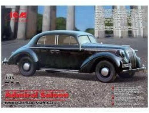 ICM Admiral Saloon, WWII German Staff Car 1:35 (35472)