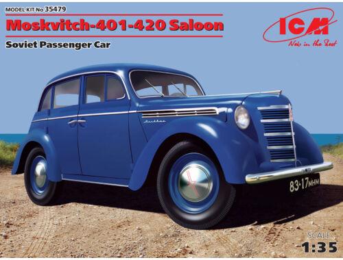 ICM Mosvitch-401-420 Saloon 1:35 (35479)