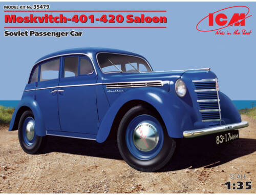 ICM Mosvitch-401-420 Saloon 1:35 (35479)