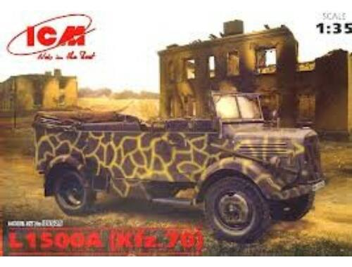 ICM L1500A (Kfz.70) WWI German Personnel Car 1:35 (35525)