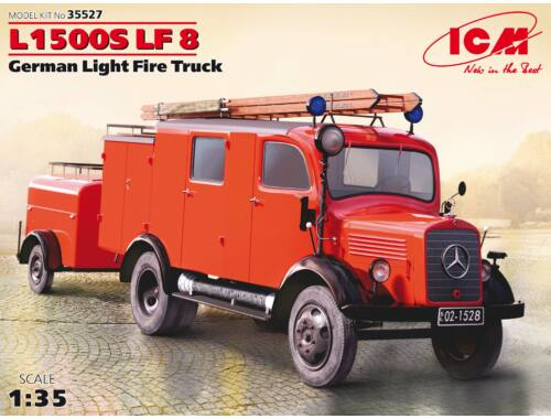 ICM L1500S LF 8, German Light Fire Truck 1:35 (35527)
