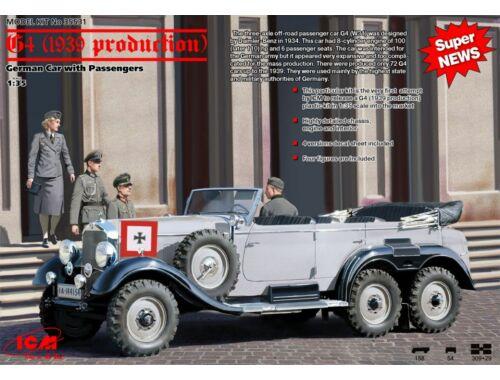 ICM G4 (1939), German Car With Passengers 1:35 (35531)