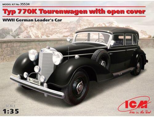 ICM Type 770K Touring Car Soft Top 1:35 (35534)