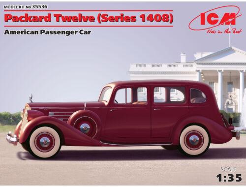 ICM Packard Twelve Seires 1408 American Passenger Car 1:35 (35536)