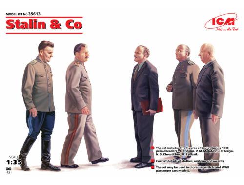 ICM Stalin   Co. (5figures) 1:35 (35613)