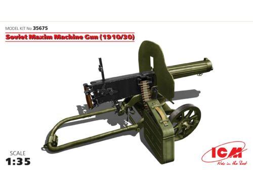 ICM Soviet Maxim Machine Gun 1910/29 1:35 (35675)