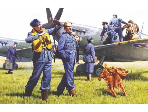 ICM RAF plots and ground staff 1:48 (48081)