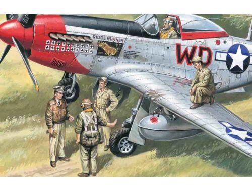 ICM USAAF pilots and ground crew 1:48 (48083)