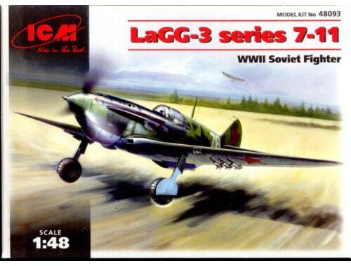 ICM LaGG-3 series1 7-11, WWII Soviet Fighter 1:48 (48093)