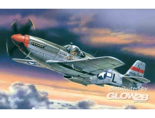 ICM Mustang P-51C American Fighter 1:48 (48121)