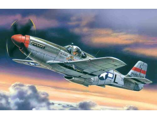 ICM Mustang P-51C American Fighter 1:48 (48121)