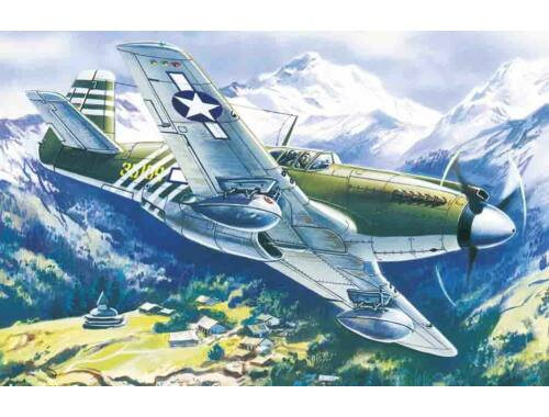 ICM Mustang P-51A WWII American Fighter 1:48 (48161)
