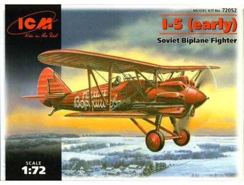 ICM Polikarpov I-5 early version 1:72 (72052)