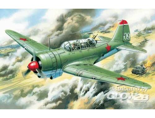 ICM Soviet Su-2 Bomber 1:72 (72081)
