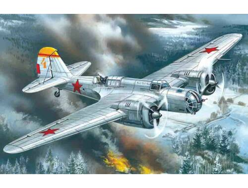 ICM Soviet bomber SB 2M-100A 1:72 (72162)