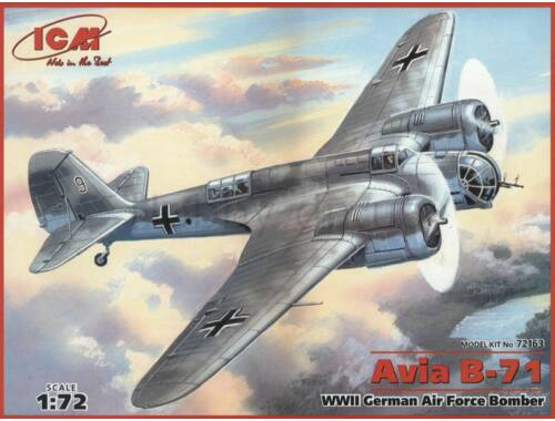 ICM Avia B-71 German Air Force Bomber WW II 1:72 (72163)