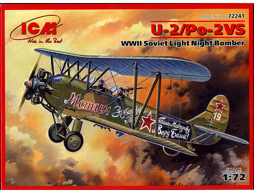 ICM U-2 / Po-2 VS Soviet Light Night Bomber 1:72 (72241)