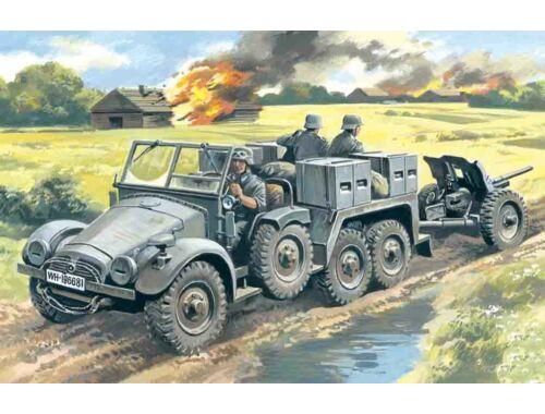 ICM Krupp L2H143 Kfz. 69 mit Pak 36 Gun 1:72 (72461)