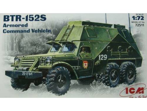 ICM Russian command post BTR-152S 1:72 (72511)