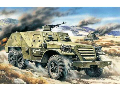 ICM Armored team car BTR-152 V 1:72 (72531)