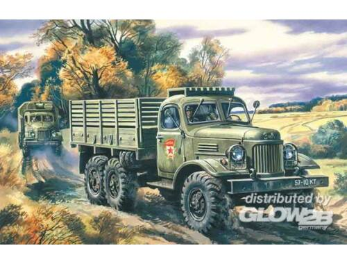 ICM Russian military truck ZiL-156 1:72 (72541)