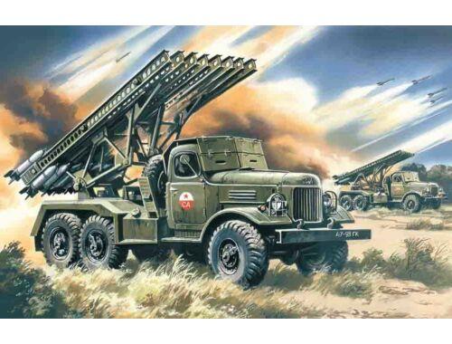 ICM Russian missile launcher BM-13-16 Katiusha 1:72 (72571)