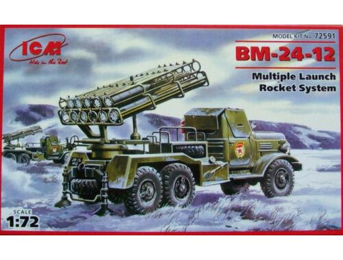 ICM Russian missile launcher BM-24-11 1:72 (72591)