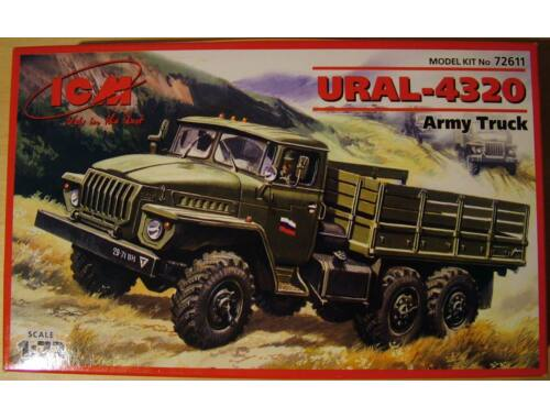 ICM URAL-4320 military truck 1:72 (72611)