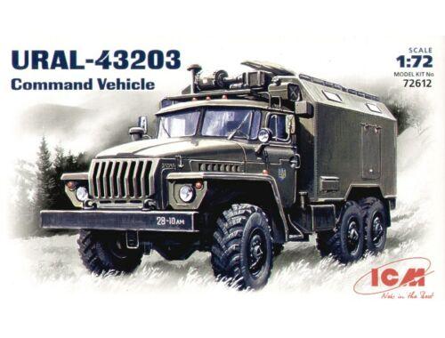 ICM URAL-43203 commandos 1:72 (72612)