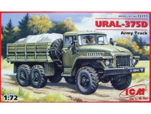 ICM URAL-375 D Military LkW 1:72 (72711)