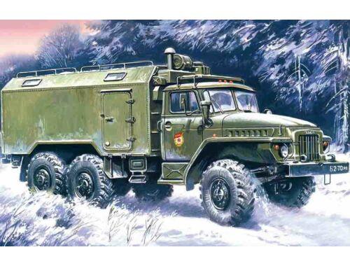 ICM URAL-375A commandos 1:72 (72712)